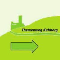 Logo des Themenwegs Kuhberg