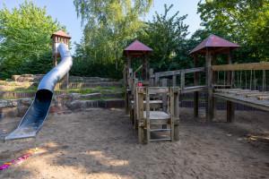 Überblick über den Spielplatz Fensenbäumen