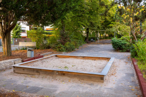 Überblick über den Spielplatz am Festplatz