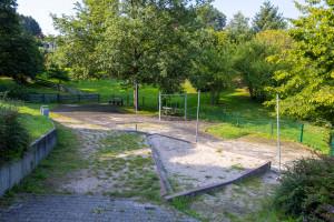 Überblick über den Spielplatz am Zehntberg